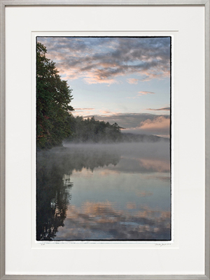 Title: LONG POND DAWN-PARSONSFIELD, MAINE , Size: 29.625 X 19.625; 40.25 X 30.25 , Medium: Photograph on Paper , Price: $2,100