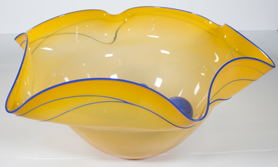 Title: NESTING VESSEL PREMIO , Size: 12 X 26 X 25 , Medium: Handblown Glass , Price: $2,100