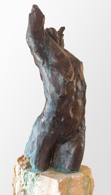 Title: WIND'S SPIRIT , Size: 69 X 14 X 16 , Medium: Bronze , Price: $18,000