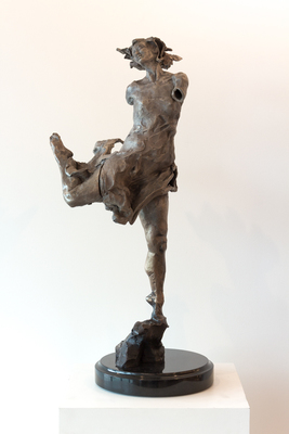 Title: MAGIC DRESS , Size: 31 X 15 X 12 , Medium: Bronze , Price: $9,200