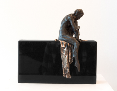 Title: PHILOSOPHER'S STONE , Size: 12 X 4 X 12 , Medium: Bronze , Price: $3,200