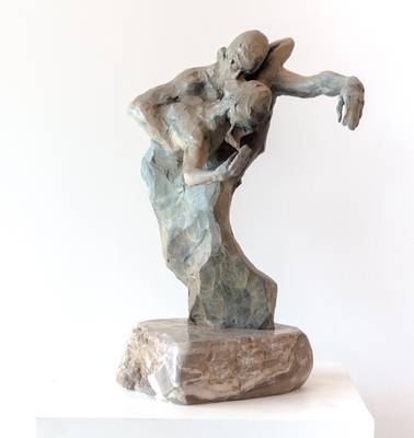Title: DANCE , Size: 19 X 15 X 8 , Medium: Bronze , Price: $7,500