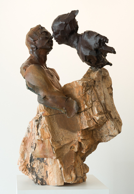 Title: FOREVER YOUNG , Size: 21 X 32 X 15 , Medium: Bronze