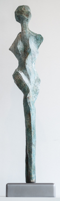 Title: SPRUCE , Size: 33 X 7 X 8 , Medium: Ceramic Stoneware , Price: $4,200