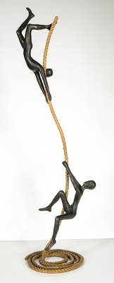 Title: FREEMOTION , Size: 46 X 14 X 12 , Medium: Bronze