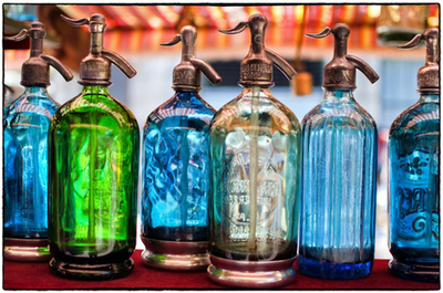 Title: BUENOS AIRES SELTZER BOTTLES , Size: 40 X 60, 49.25 X 69.25 , Medium: Photograph on Paper , Price: $4,950