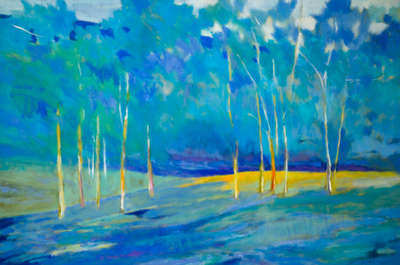 Title: AFTER A GOOD RAIN II , Size: 40 X 59.75, 42.5 X 62.25 , Medium: Oil on Canvas , Price: $11,200