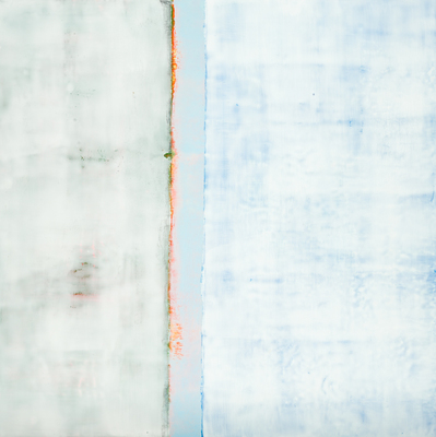 Title: SENSE OF SPACE II , Size: 24 X 24, 26.75 X 26.75 , Medium: Encaustic on Board , Price: $2,400