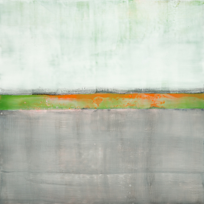 Title: SENSE OF SPACE V , Size: 24 X 24, 26.75 X 26.75 , Medium: Encaustic on Board , Price: $2,400
