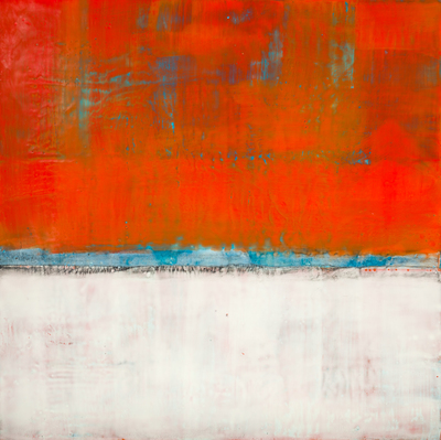 Title: SENSE OF SPACE XI , Size: 24 X 24, 26.75 X 26.75 , Medium: Encaustic on Board , Price: $2,400