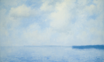 Title: EXPANSIVENESS , Size: 36 X 60, 38.5 X 62.5 , Medium: Oil on Canvas , Price: $14,200