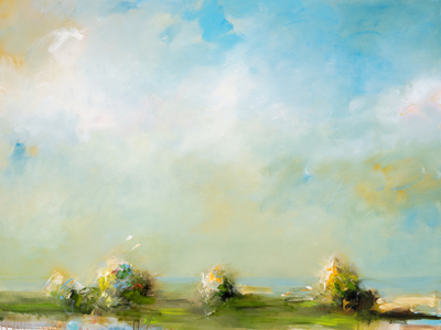 Title: SPRING TIDE , Size: 36 X 48 , Medium: Oil on Canvas