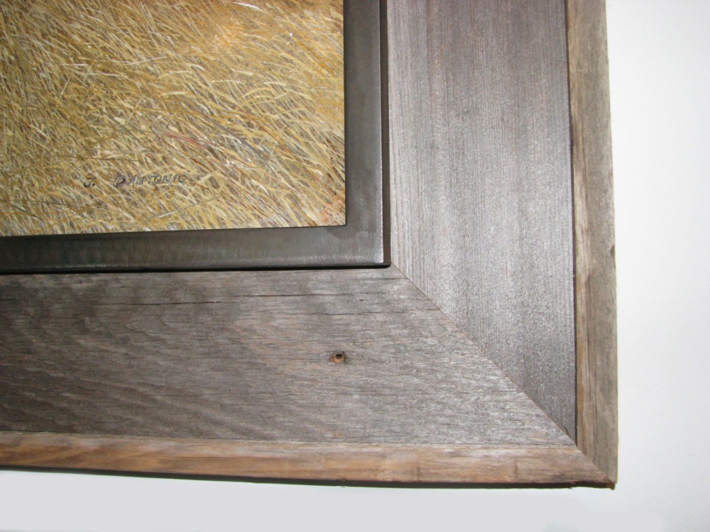Creative custom framing... something unexpected - Merritt Gallery ...