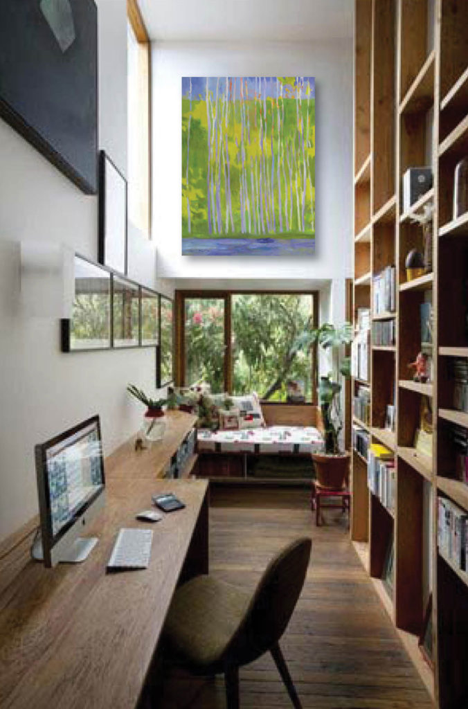 Small Space: Narrow Office Space - Merritt Gallery & Renaissance ...