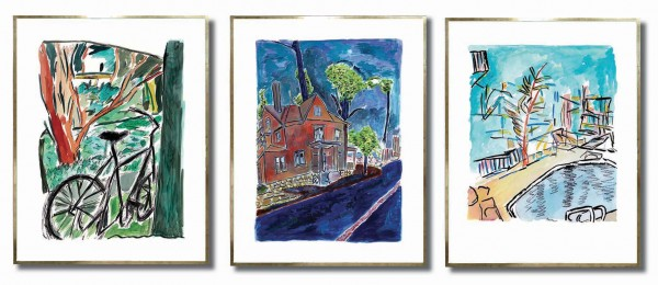 Bob Dylan Drawn Blank Series