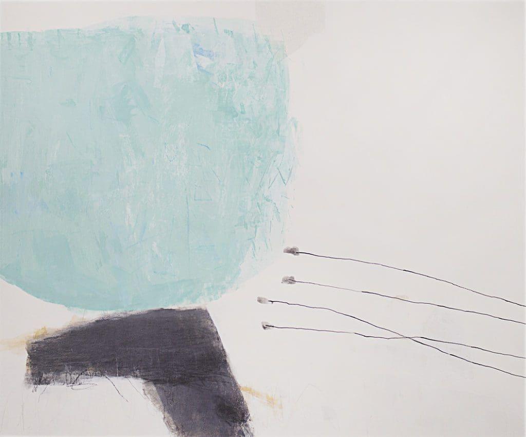 "Lee, ""Stillwinds #8"", Acrylic on Canvas, 30 x 36 in."