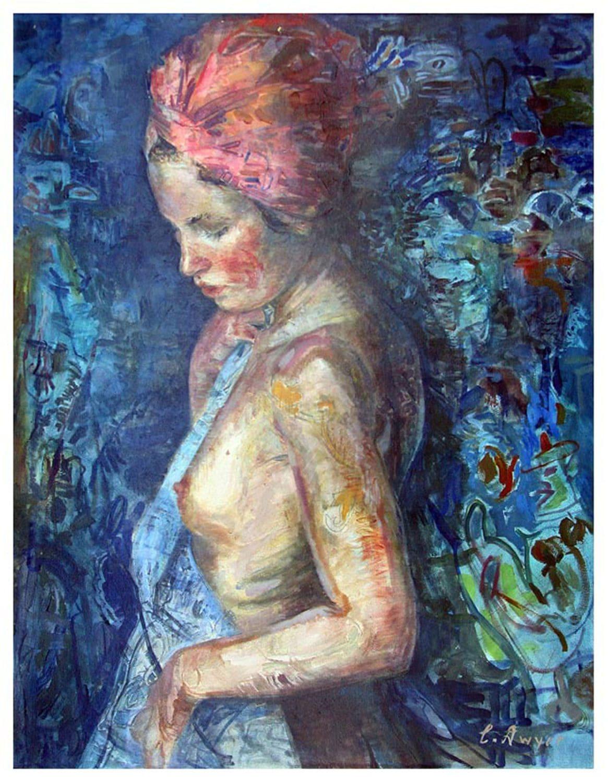 """Dwyer, """"Yvette"""", Oil on Canvas, 48 x 38 in."""