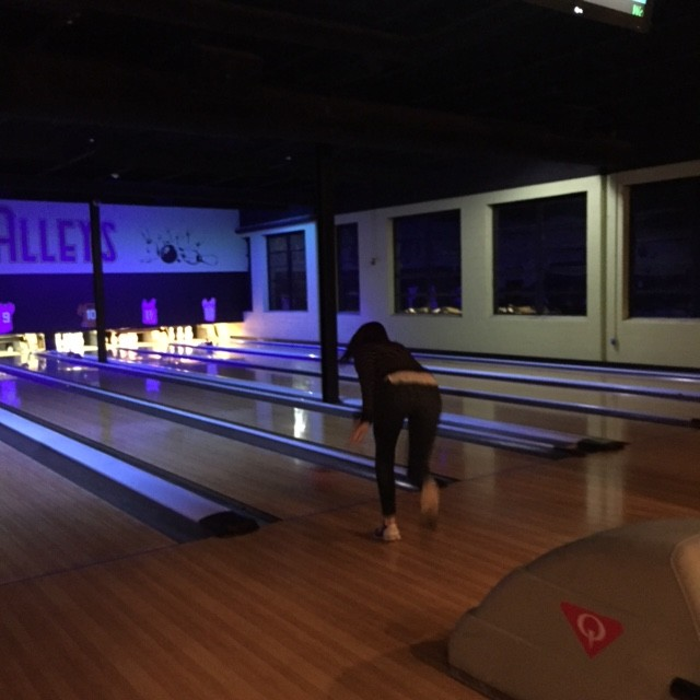Kendall, Bowling Champion of the Night!