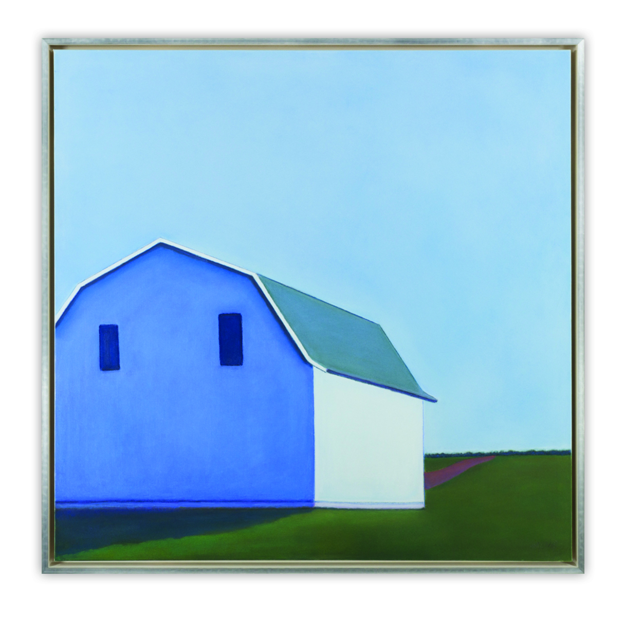 "Pritchard, ""Quite Place,"" Pastel on Canvas, 48 x 48 in. 
