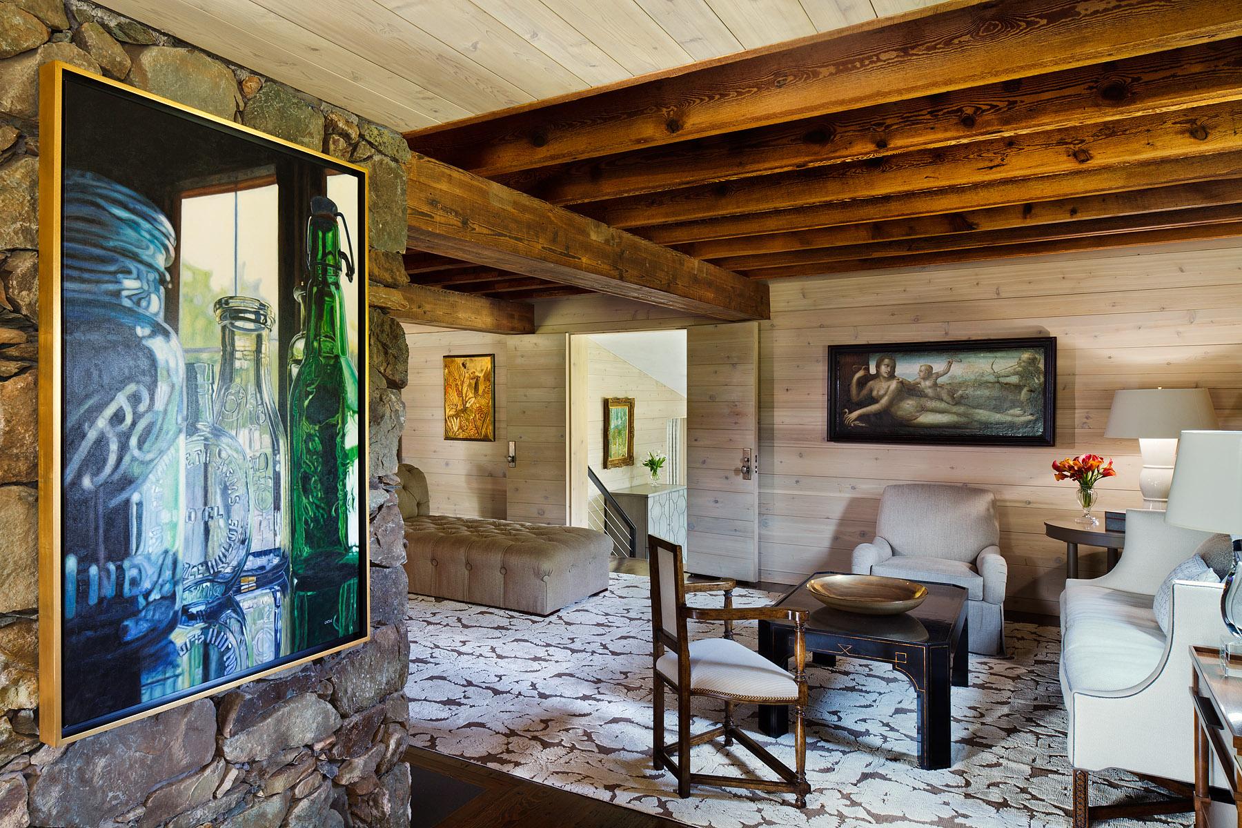 Interior Design by Jay Jenkins, Art by Merritt Gallery & Renaissance Fine Arts