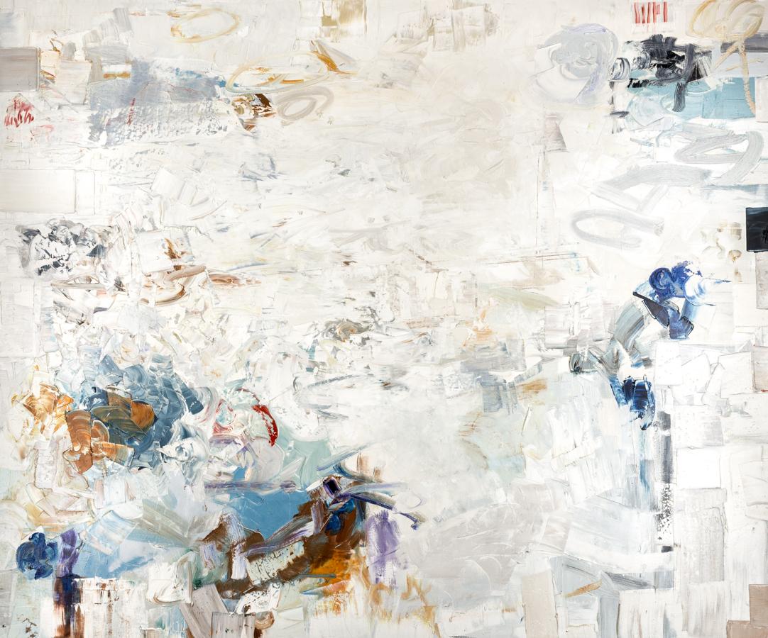 "Hayman, ""Bright Fields #2,"" Oil on Canvas, 60 x 72 in."