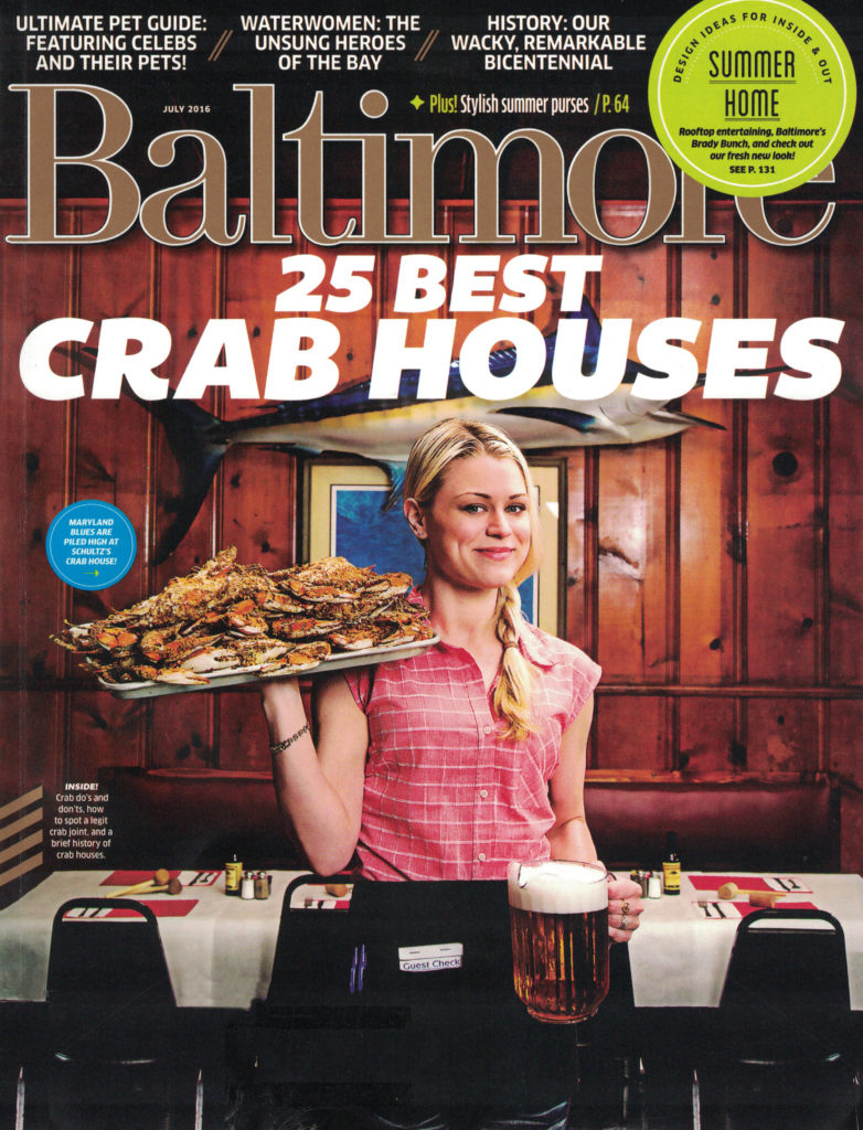 Baltimore Magazine July issue features Renaissance Fine Arts Gallery