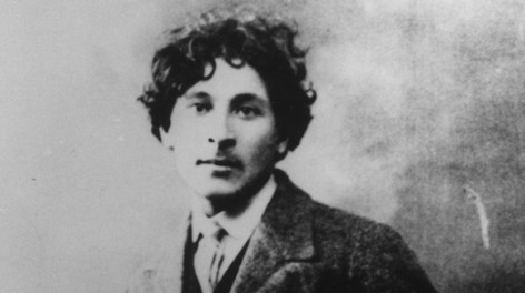Chagall in St. Petersburg, June 1910, 22 years old