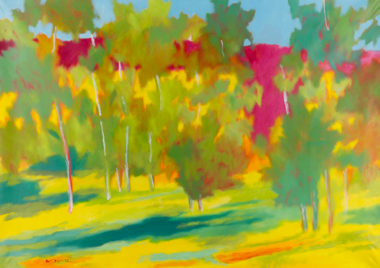 "Noice, ""Toward the Garnet Range,"" Oil on Canvas, 48 x 68 in."