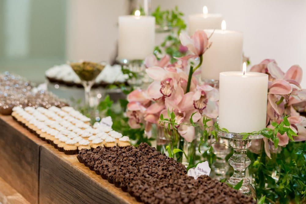 June B Sweets display of treats