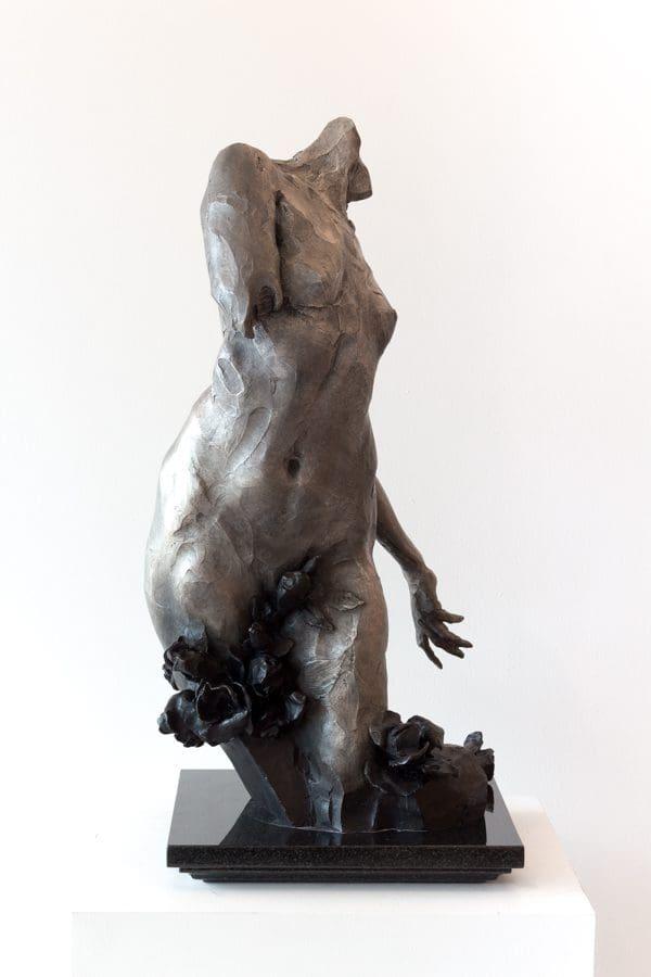 """Schueckler, """"Desidenata,"""" Bronze, 26 x 11.5 x 11.5 in."""