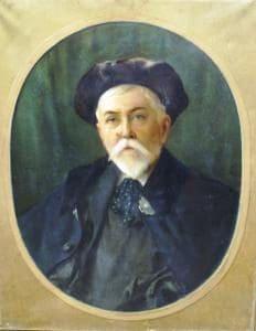 Portrait of Thornley (courtesy of Pontoise)