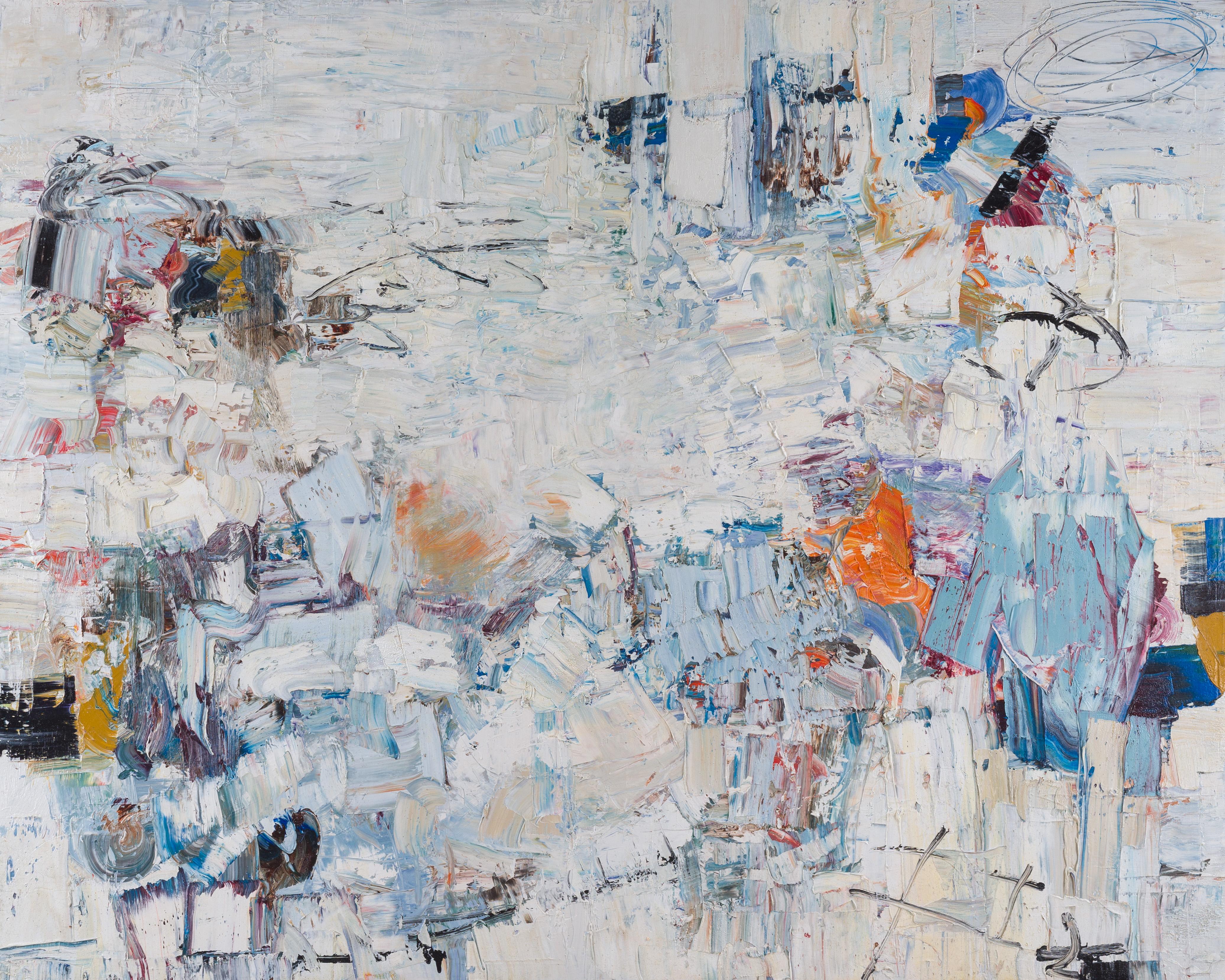 "Hayman, ""Beyond Borders II,"" Oil on Canvas, 48 x 60 in."