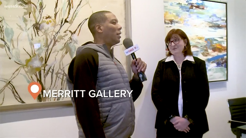 Metro Stop Stories host Reese Waters speaks to Chevy Chase Gallery director Mina